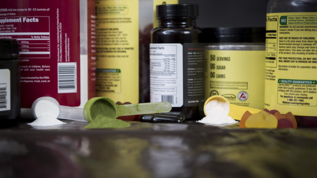 different kinds of sports supplements